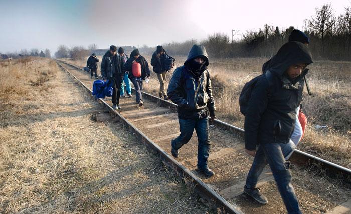 Piet den Blanken Migratie